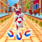 Игра Subway Bunny Run Rush Rabbit Runner